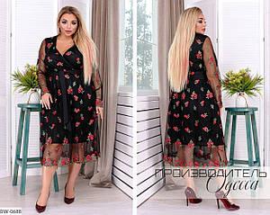 Праздничное платье  размеры: 50-52, 54-56, 58-60