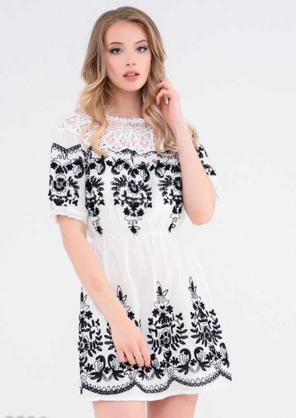 Платья  5526  L белый