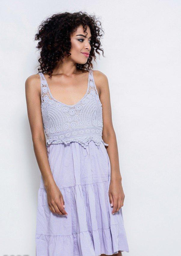 Платья  5927  S серый