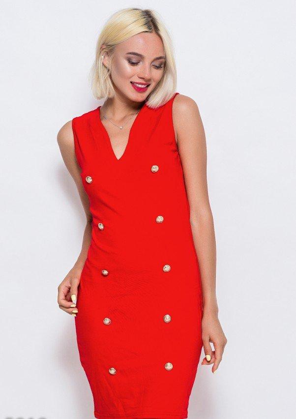 Платья  5919  M красный