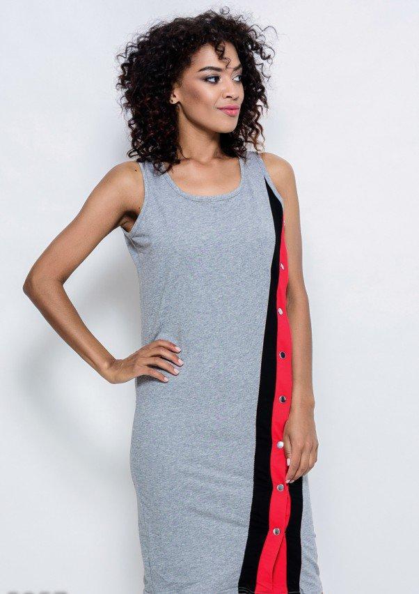Платья  5957  S серый