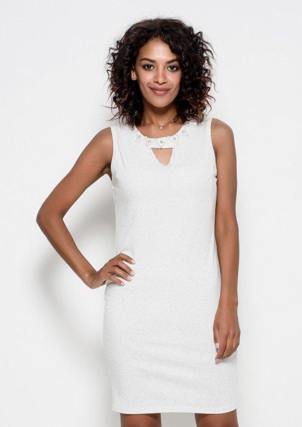 Платья  6225  S светло-серый