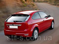 Накладка на багажник Ford Focus 2 HB (2008-2011)