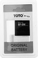 Аккумулятор TOTO BP-6M for Nokia 1000/1070 mAh #I/S