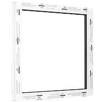 Окно одностворчатое глухое ALMplast 600х800 мм
