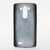 Силиконовый чехол под кожу ультратонкий для LG G3 D855 D856 Черный, фото 1