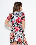 Тонкое платье с пуговицами на передней планке, фото 3