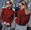 Женская блуза воротник стойка  42, 44, 46, фото 2