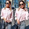 Женская блуза воротник стойка  42, 44, 46, фото 3
