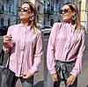 Женская блуза воротник стойка  42, 44, 46, фото 4
