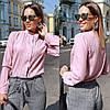 Женская блуза воротник стойка  42, 44, 46, фото 5