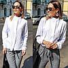 Женская блуза воротник стойка  42, 44, 46, фото 6