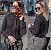 Женская блуза воротник стойка  42, 44, 46, фото 7