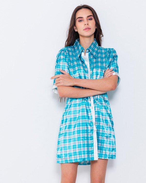 Платья  WN7-34  S голубой