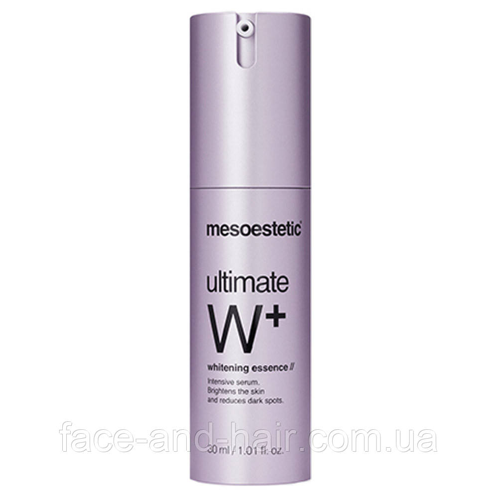 Осветляющая сыворотка Mesoestetic Ultimate W+ Whitening essence