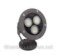 Светильник ландшафтный  KL- LED 21W 3000К 220V IP 65 GRAY  SPIKE, фото 2