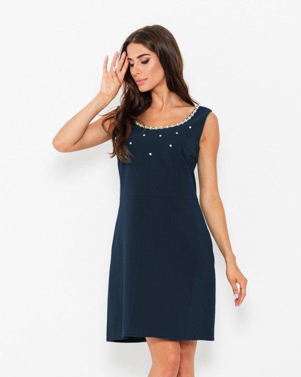 Платья  WN12-67  M темно-синий