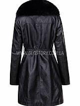 Женское кожаное пальто, Glo-Story, фото 3