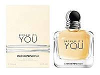 🎁Женские - Giorgio Armani Emporio Armani Because Its You edp 100ml реплика  | духи, парфюм, парфюмерия интернет магазин, женские духи, духи отзывы,