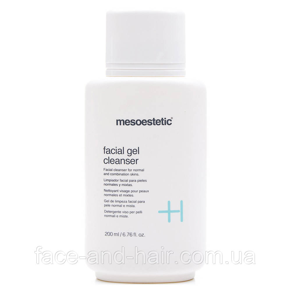 Очищающий гель для нормальной и комбинированной кожи Mesoestetic Home performance Facial gel cleanser