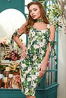 Мини платье женское летнее с принтом KP-5934-12