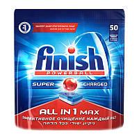 Таблетки для посудомоечных машин Finish All In 1 Max 50 шт.