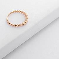 Золотое кольцо с шариками гк05897