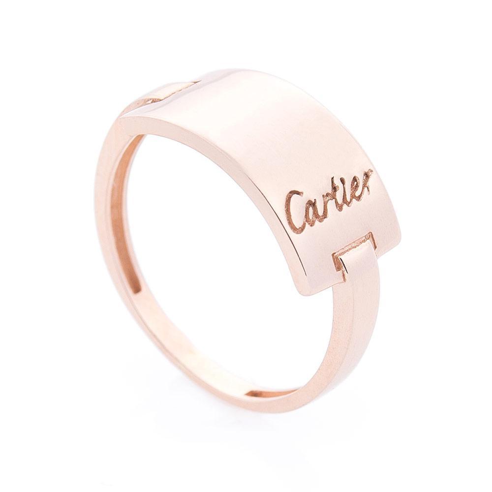 Золотое кольцо без камней гк06252