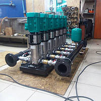 Насосная бустерная станция повышения давления  Wilo