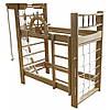 Двухъярусная кровать-спортивный уголок «Пират» Ирель