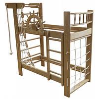 Двухъярусная кровать-спортивный уголок «Пират» Ирель, фото 1