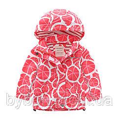 Куртка деми детская рост 90-150