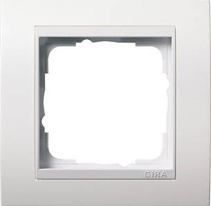 Gira 0211327 Рамка установочная 1 пост Gira Event белый белый