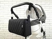 Сумка пеленатор для коляски Z&D Черная