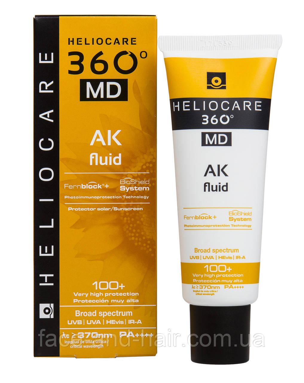 Флюид АК с тотальной защитой SPF 100+ (medical device class I) Cantabria Heliocare 360º MD AK Fluid
