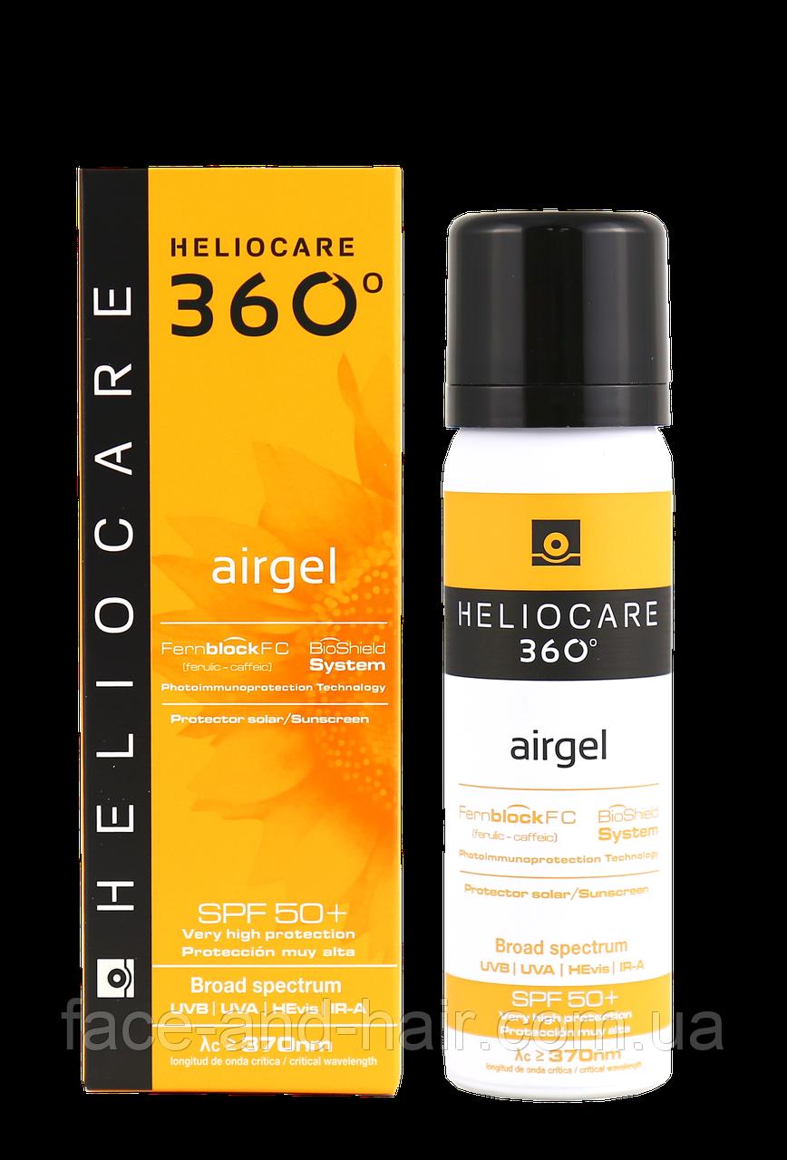 Солнцезащитный ультралегкий гель Cantabria Heliocare 360 Airgel SPF 50+ 60 мл