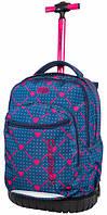 Рюкзак на колесах CoolPack Swift Heart Link для девочек 46 x 32 x 20 см 29 л (B04009), фото 1