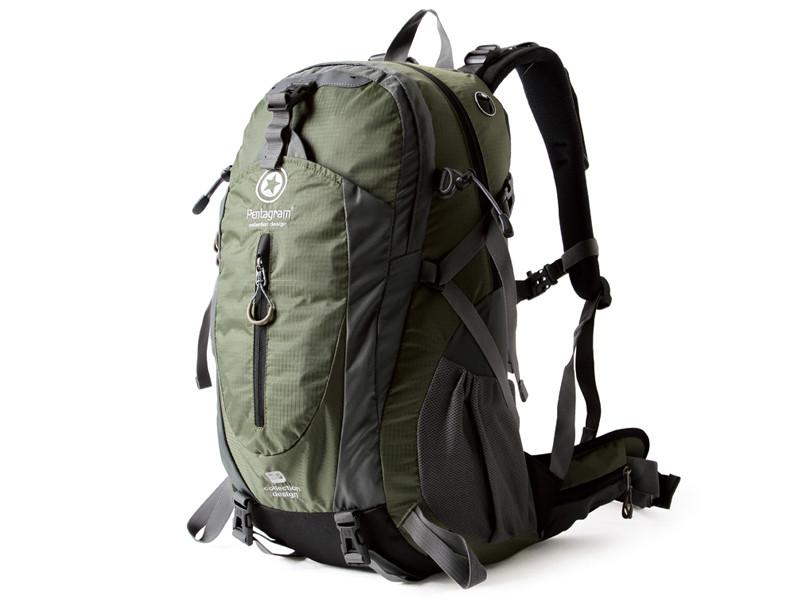 Туристический рюкзак Pentagram 35л, универсальный