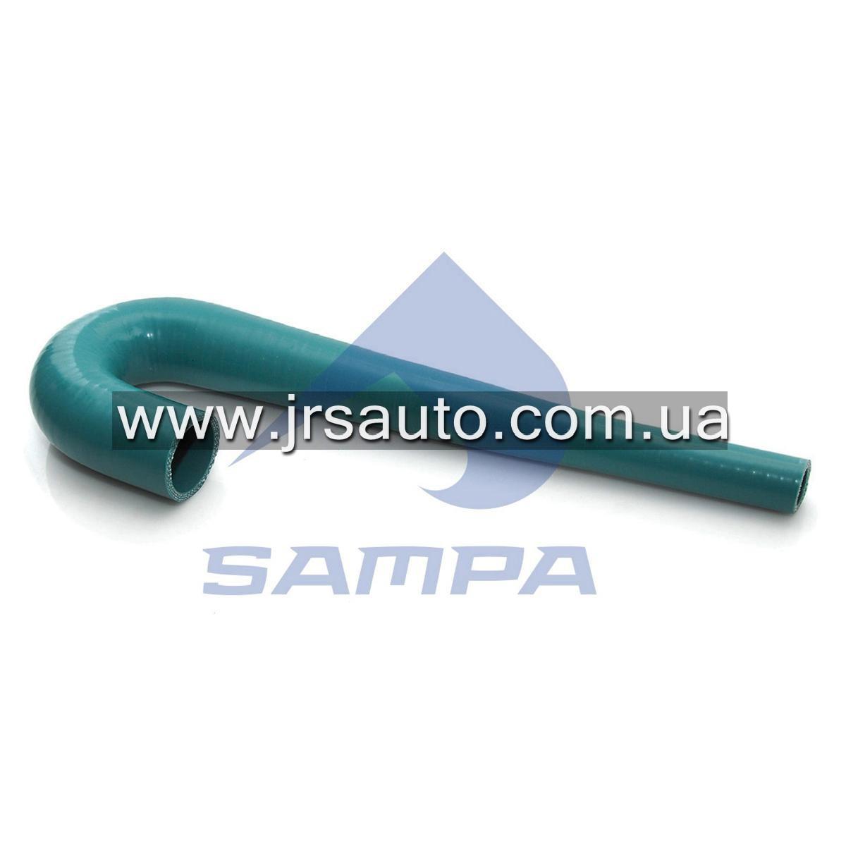 Колено шланга масляного радиатора (19/40х380/90) VOLVO \8154602 \ 031.116