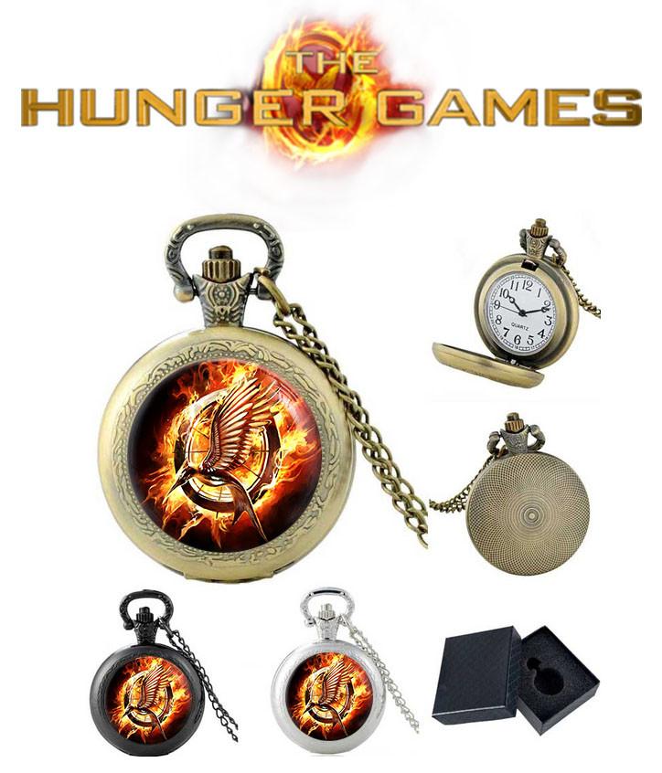 Карманные часы с изображением сойки пересмешницы Голодные игры / The Hunger Games
