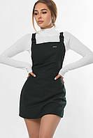 Платье-комбинезон стильное женское изумруд KP-10280-30, фото 1