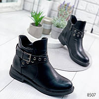 Ботинки женские Bia черные , женская обувь