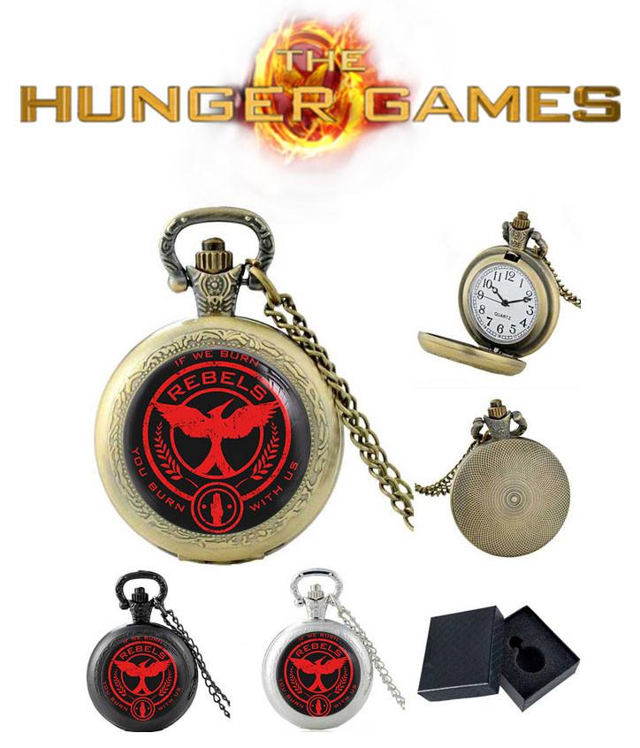 Карманные часы REBELS сойка пересмешница Голодные игры / The Hunger Games