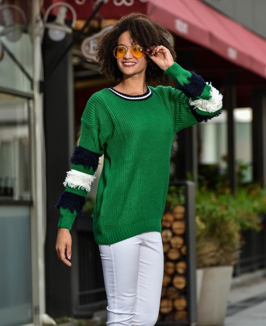 Женский модный свитер  ДГс306