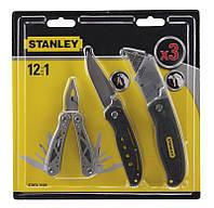 Мультіінструмент + складаний ніж + висувний ніж комплект