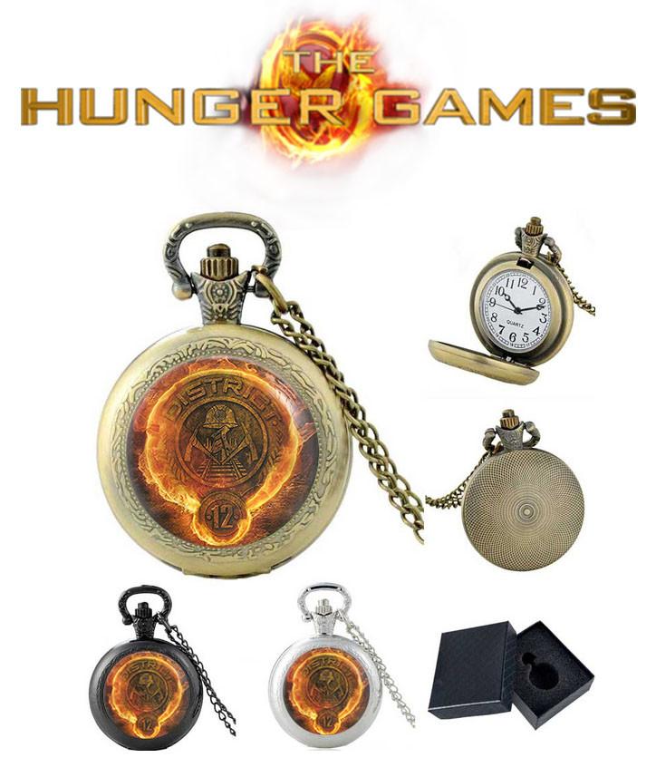 Карманные часы Дистрикт 12 Голодные игры / The Hunger Games