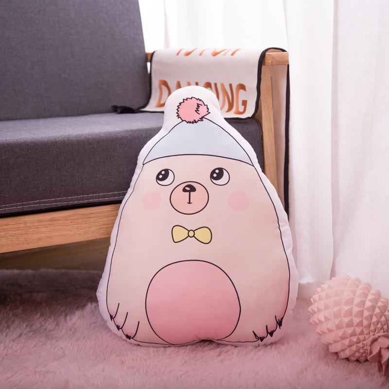 Мягкая игрушка - подушка Стеснительный мишка, 50см Berni Kids