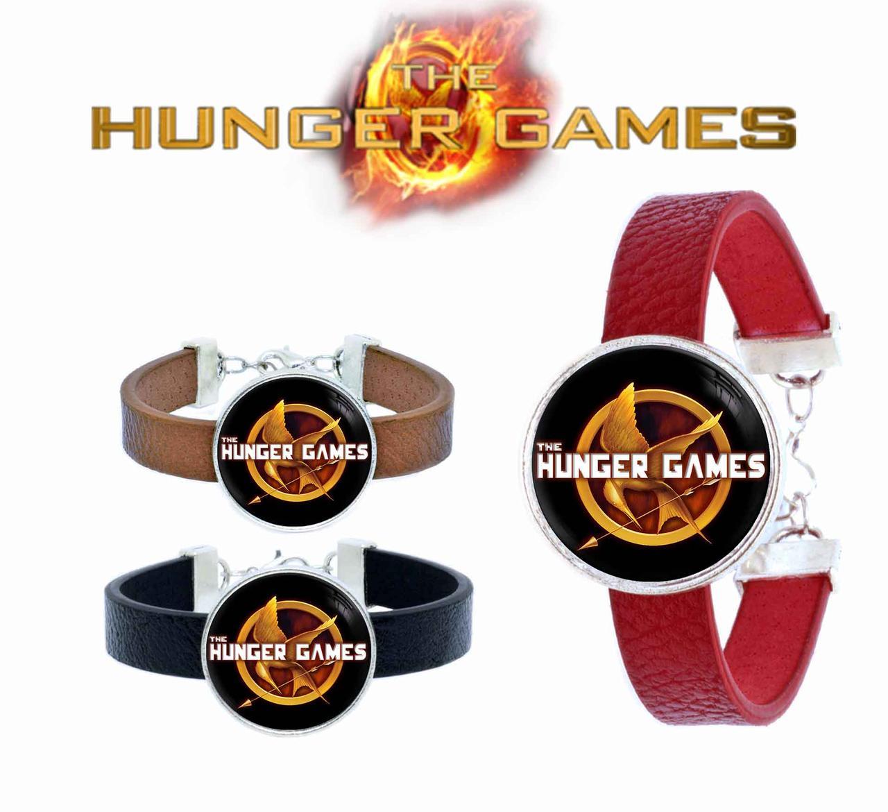 Браслет с изображением сойки пересмешницы Голодные игры / The Hunger Games