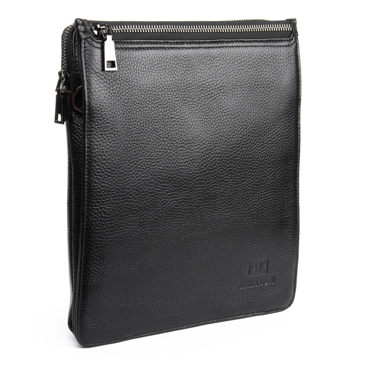 Сумка Мужская Планшет кожаный BRETTON BP 3596-3 черная