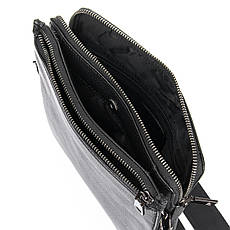 Сумка Мужская Планшет кожаный BRETTON BP 3596-3 черная, фото 3